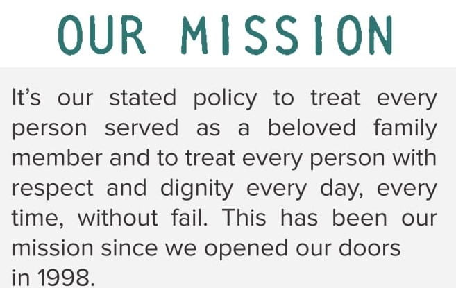 Louisa Ridge Mission Statement