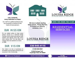 louisa ridge residential services akron