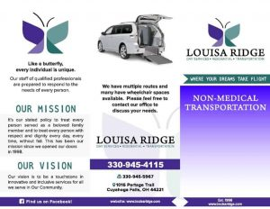 transportation services louisa ridge