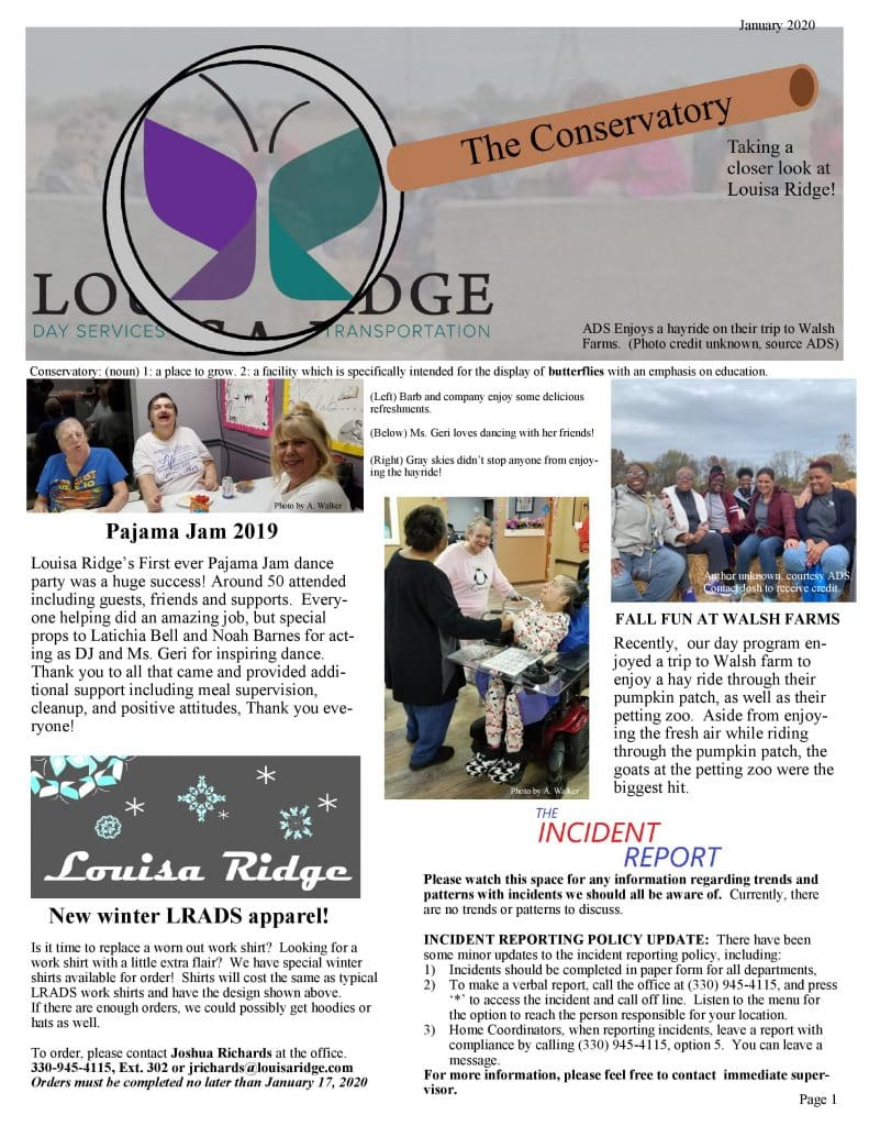 Louisa Ridge Akron Adult Day Services